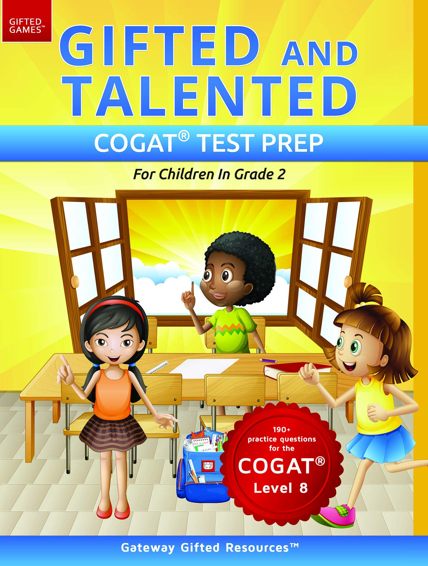 Who Are Gifted And Talented And What Do >> Amazon Com Gifted And Talented Cogat Test Prep Grade 2