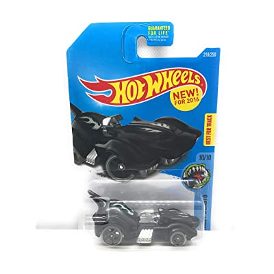 Hot Wheels 2016 Street Beasts Purrfect Speed 210/250, Black: Toys & Games