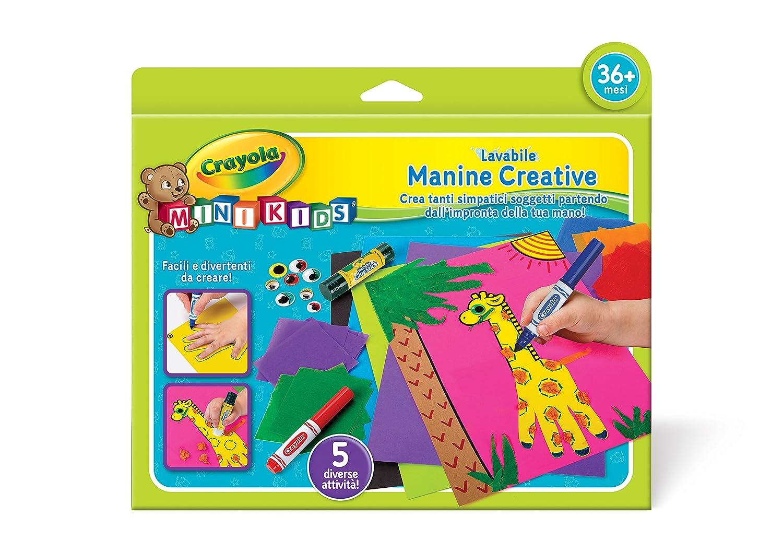 CRAYOLA 81-1335 - Mini Kids Manine Creative Binney & Smith Italy
