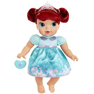 Disney Princess Deluxe Baby Ariel Doll with Pacifier Baby Doll Toy: Toys & Games