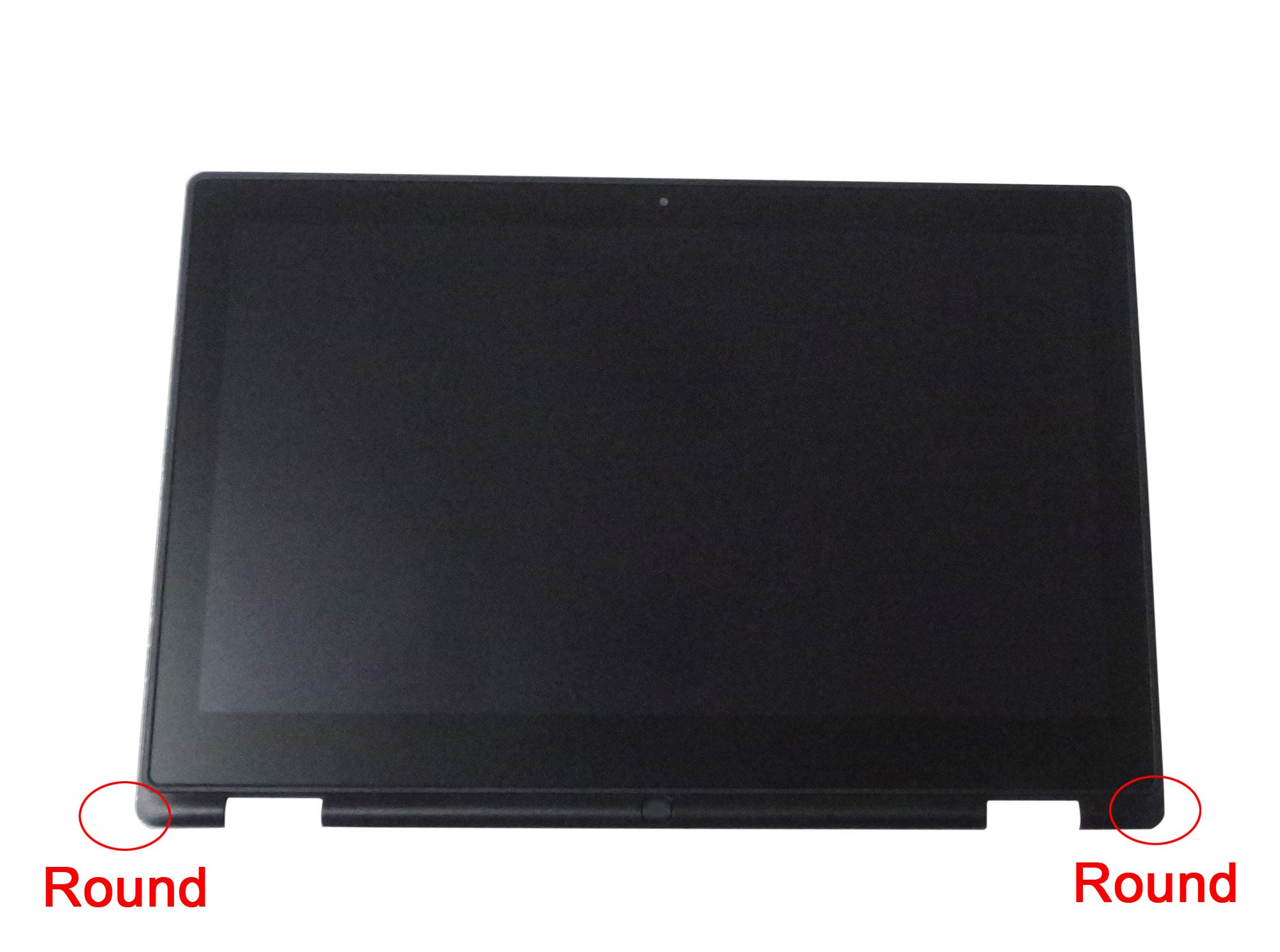 KREPLACEMENT 13.3'' Touch Screen Replacement Assembly Digitizer + LCD Display for Dell Inspiron 13-7353 Full HD 1080p 1920×1080 (Youtube Video Instruction Available) (With Bezel)
