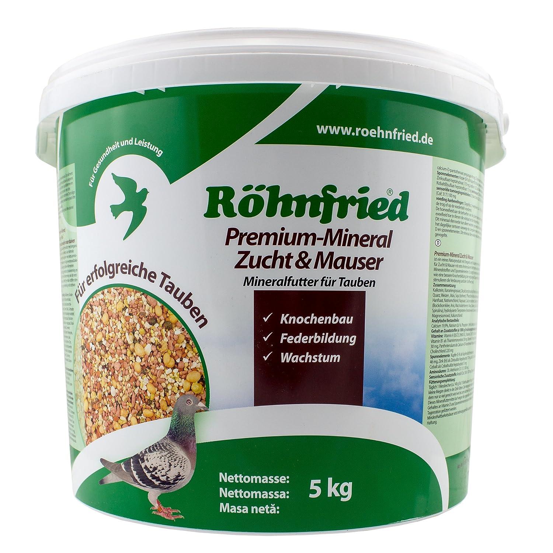 Röhnfried Premium Mineral Zucht+Mauser - mit Kräutern für Tauben