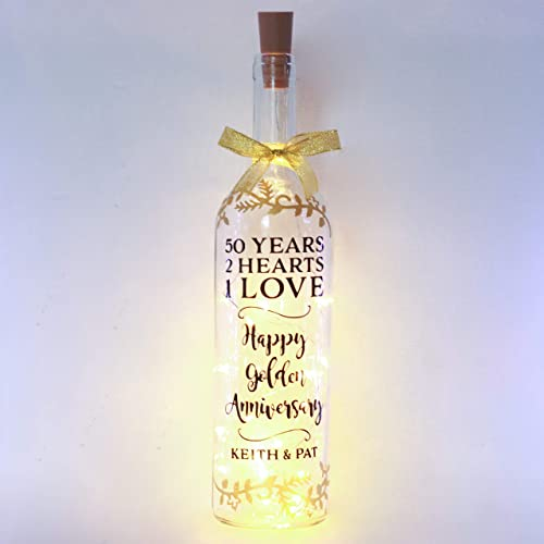 Personalised Golden Wedding Anniversary Gifts 50th Present For
