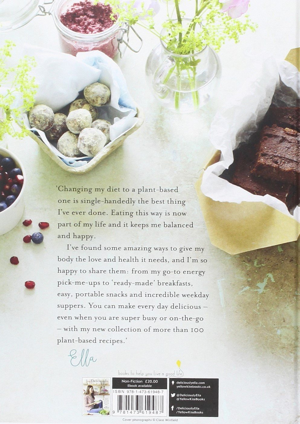 79ea6d215d84f Deliciously Ella Every Day  Simple recipes and fantastic food for a healthy  way of life  Amazon.co.uk  Ella Mills (Woodward)  9781473619487  Books