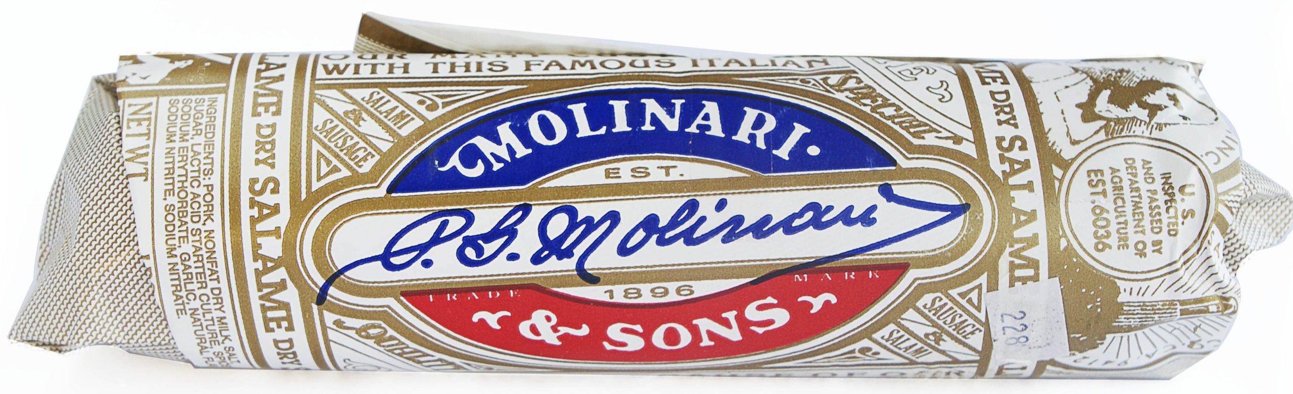 Molinari Italian Dry Salami, 12 Ounce