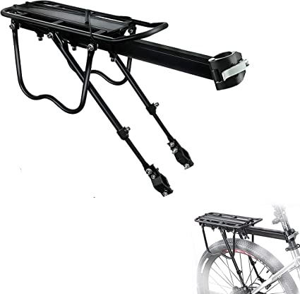 Bike Cargo Rack Bike Front Luggage Rack Bicycle Rear Goods Carrier Pannier