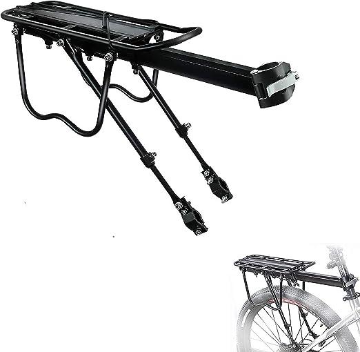 COMINGFIT - Portaequipajes de bicicleta (capacidad de 110 libras)