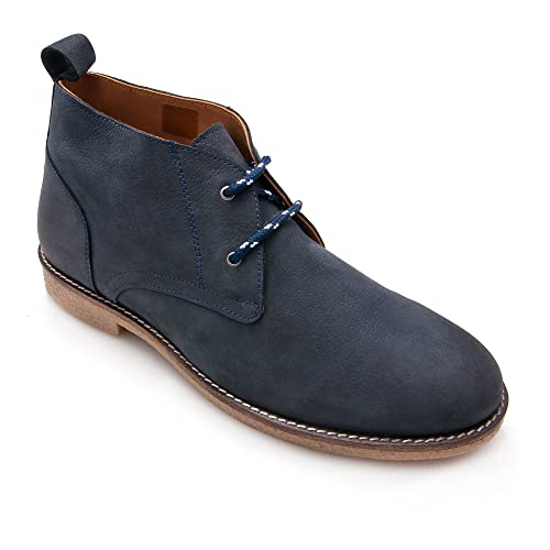 Zerimar Zapatos de Piel para Hombre Zapatos Hombre Elegantes Calzado Hombre  Vestir Color Azul Marino Talla 44  Amazon.es  Zapatos y complementos 4d36595ef19