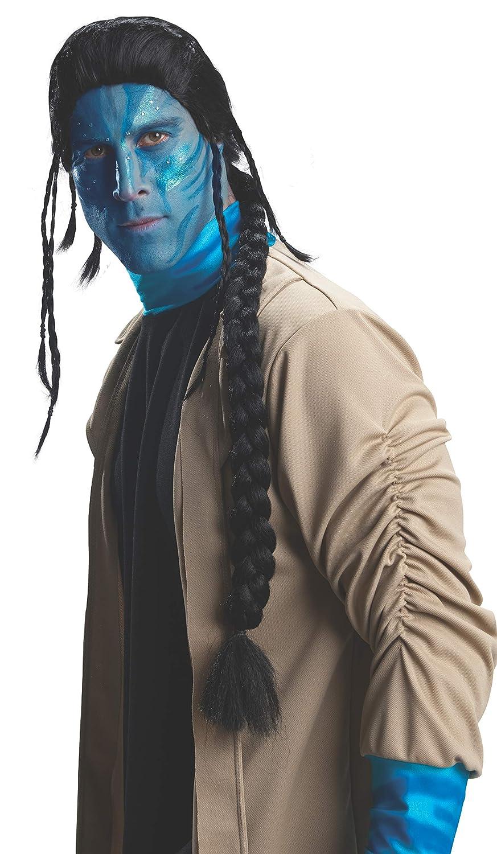 AEC - PE997 - Déguisement - Perruque Avatar Jake Sully - Taille Unique