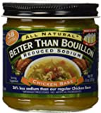 Better Than Bouillon Reduced Sodium Chicken Base, 0.88 Pound