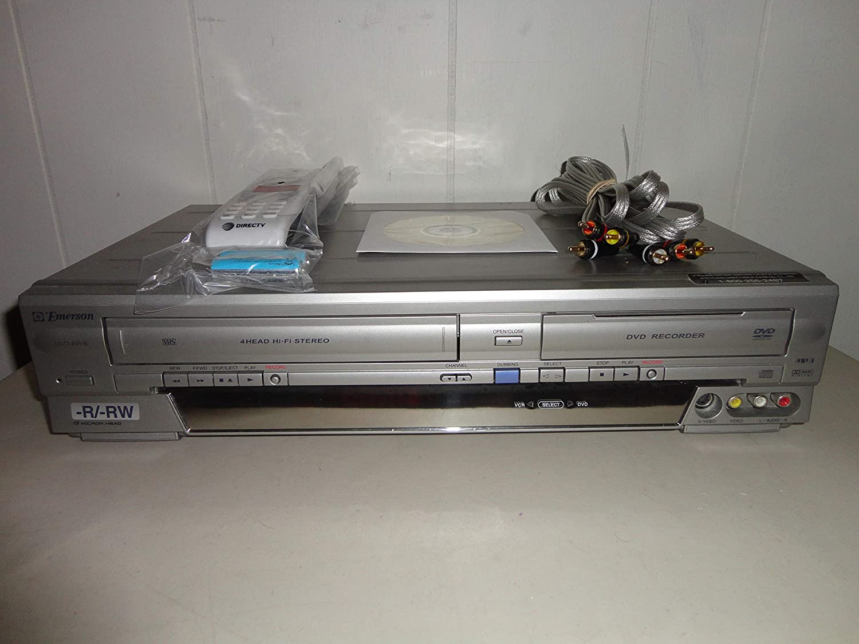 Emerson EWR20V4 DVD Recorder/VCR Combo