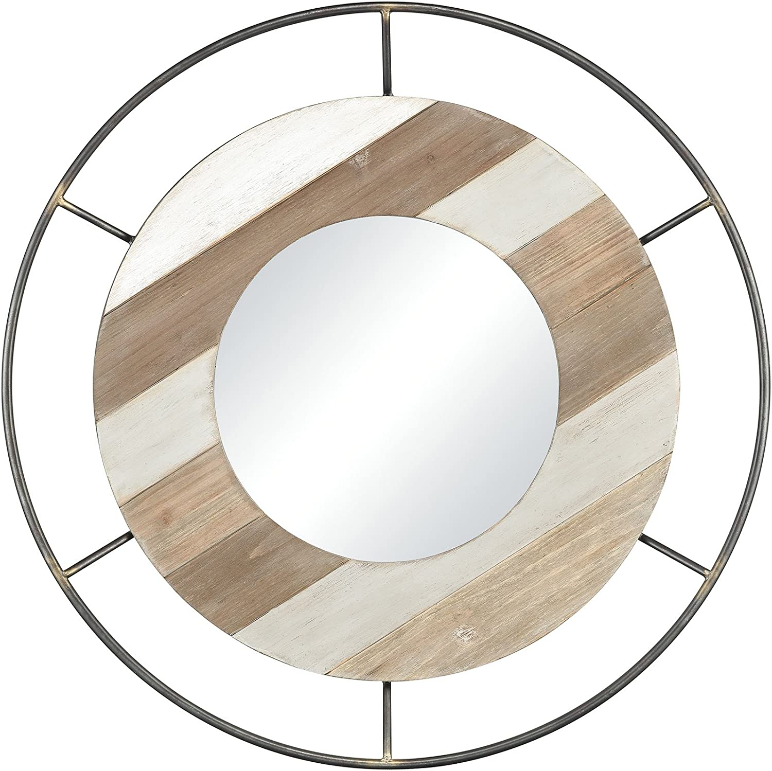 ELK Sonora Wall Mirror, Wood Tone