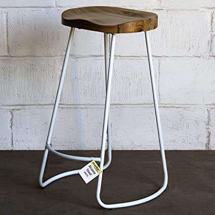 Magnificent Marko Furniture Alcamo White Industrial Vintage Rustic Bar Uwap Interior Chair Design Uwaporg