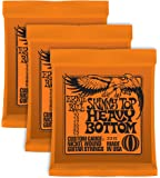 "Ernie Ball - Corde 2215 ""Skinny top/Heavy Bottom"", 3 pezzi"