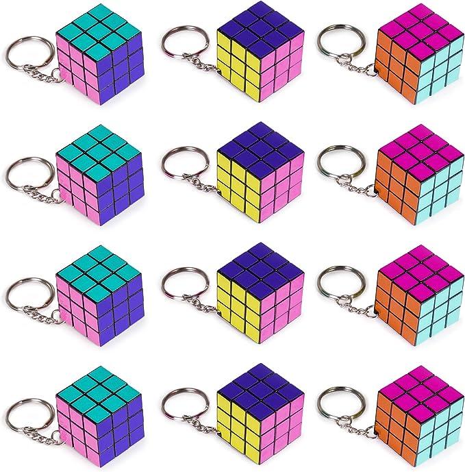 Amazon.com: Paquete de 12 piezas de mini llavero de 1.25 ...
