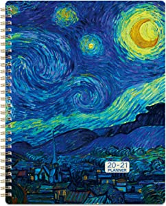 """2020-2021 Planner - July 2020-June 2021 Weekly & Monthly Planner with to-Do List, 7.65"""" x 9.85"""", Check Boxes, Twin-Wire Binding, Perfect for Scheduling Your Daily Life"""