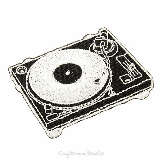 Negro Tocadiscos reproductor de discos de vinilo - fácil y ...