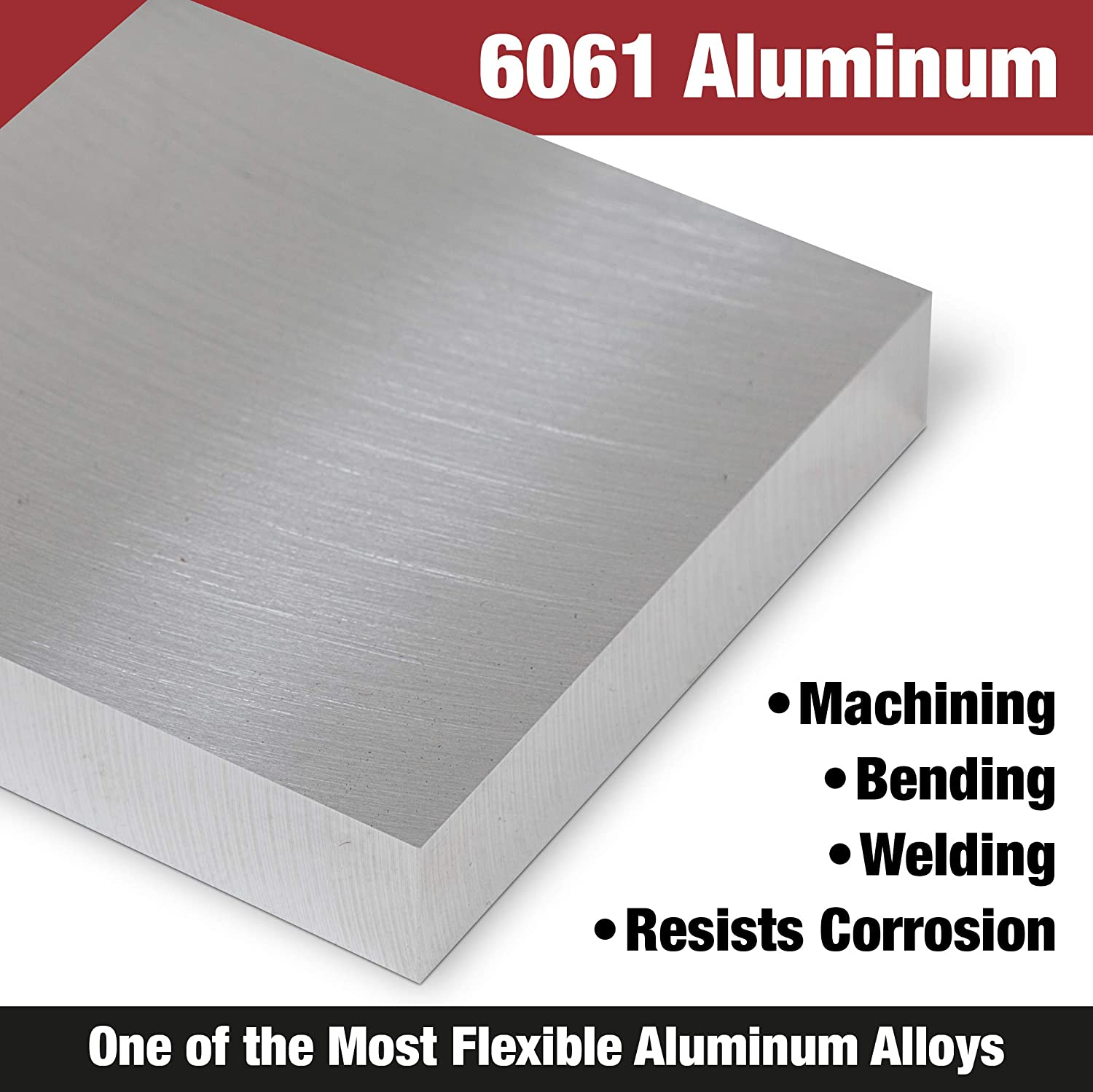 Precision Ground and Milled Sheet .190 X 2.000 X 12.000 6061-T6 Aluminum