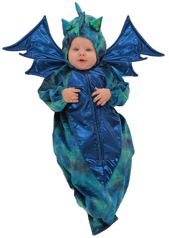 Barato Princess Paradise bebé niños Danny el dragón, azul, azul, dragón, 0/6 Meses 62dd1d