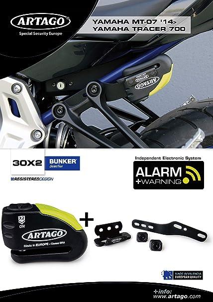 Artago 30X2 Antirrobo Disco Alarma 120 db Alta Gama y ...