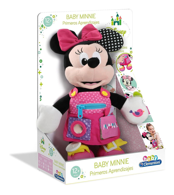 55207.8 Baby Clementoni Mickey Peluche Primeros apredizajes37x26 Mouse aprendizajes