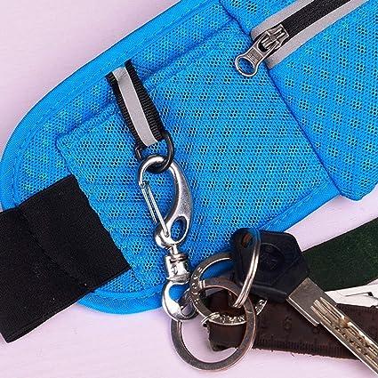 Amazon.com: naivety - Bolso de cintura para mujer, diseño ...