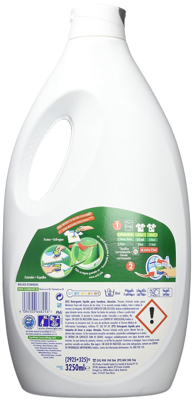 Ariel Actilift Detergente L Quido Para Lavadora 3250 Ml  ~ Dosificador De Detergente Para Lavadoras