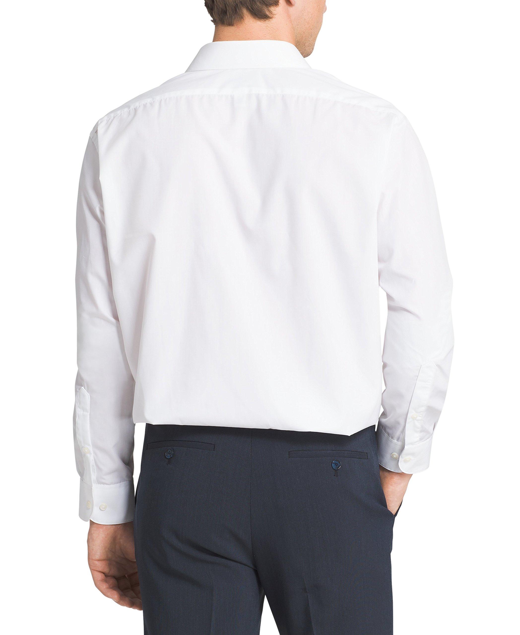 Van Heusen Men 39 S Poplin Regular Fit Solid Point Collar