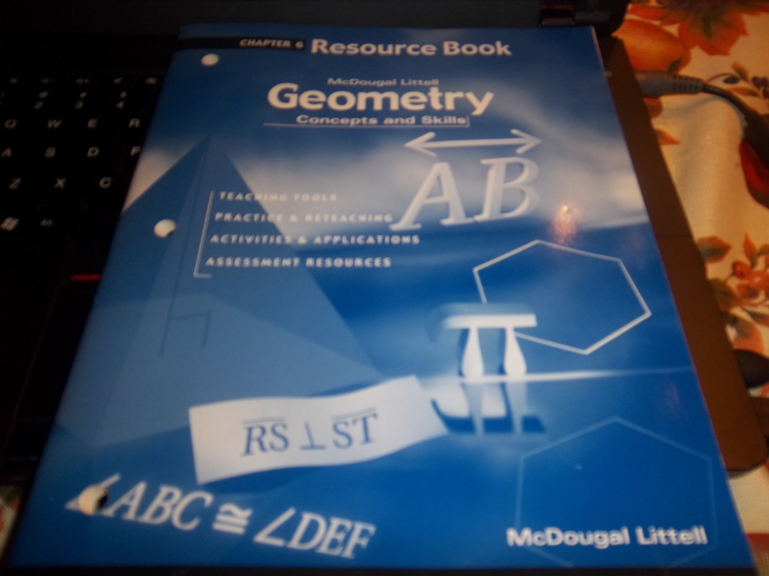 Download Geometry: Concepts and Skills: Resource Book Chapter 6 pdf epub
