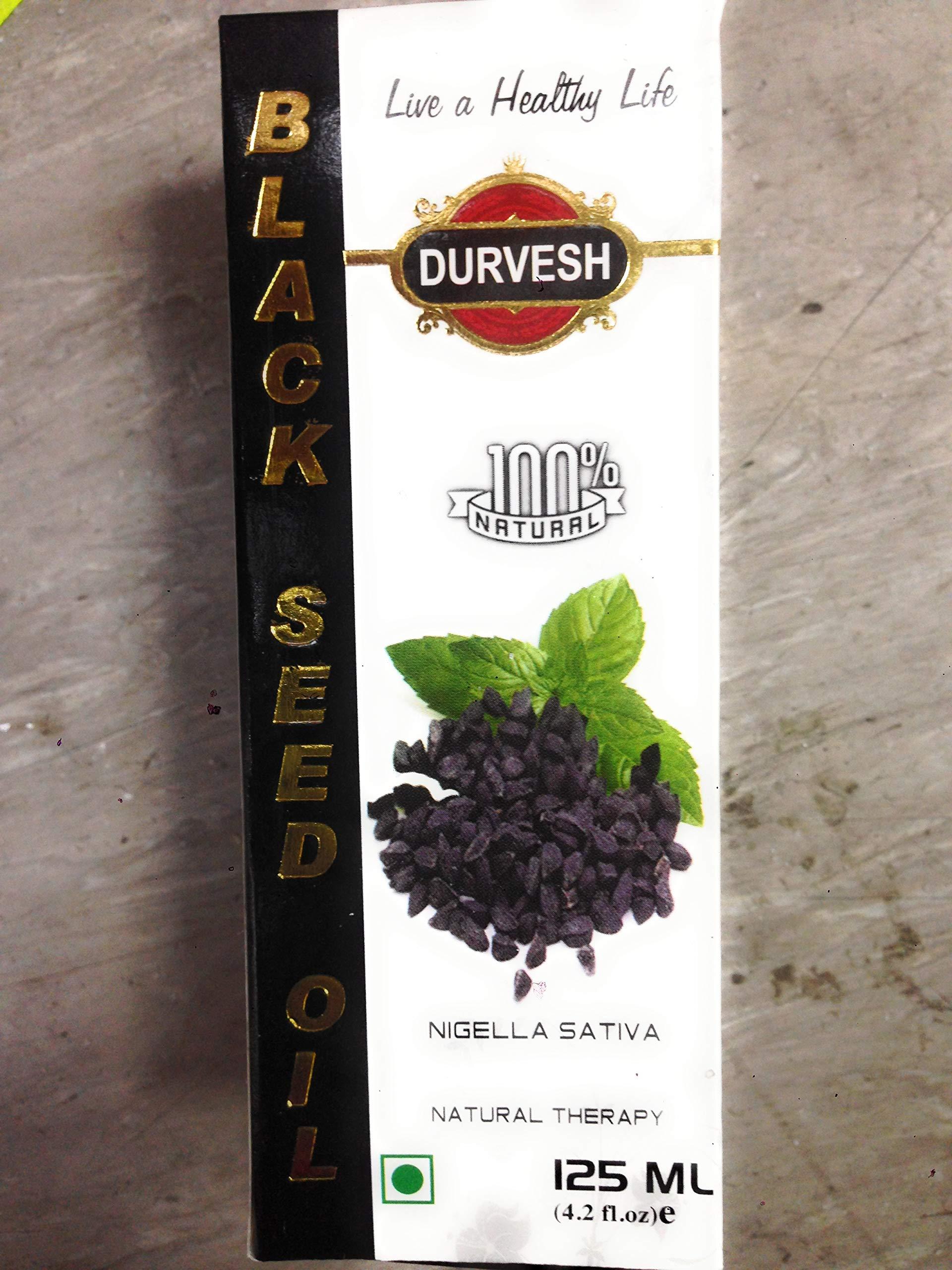 Black Seed Oil Cold Pressed 125 ml Premium Quality Habbat ul Sauda, Habbat ul Baraka, Kalonji, Kalwanji