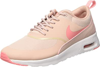 Nike Women's Air Max Thea Low Top Sneakers, Pink (Pink OxfordBright MelonWhite), 5.5 UK