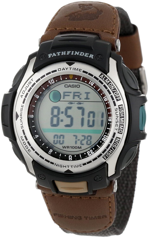 amazon com casio men s pas400b 5v pathfinder resin fishing watch rh amazon com G-Shock Watch Casio Pathfinder Manual Watch Casio Sport Pathfinder Manual