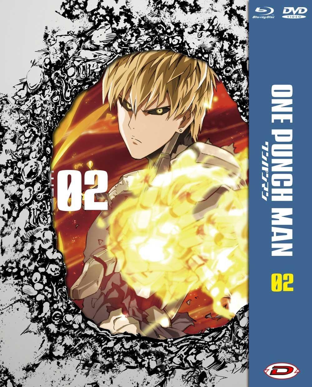 One Punch Man #02 Eps 05-08 Ltd Blu-Ray+Dvd Italia Blu-ray ...
