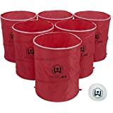 Wicked Big Sports Supersized Outdoor/Indoor Sport Tailgate Games, 6 Pong Cups