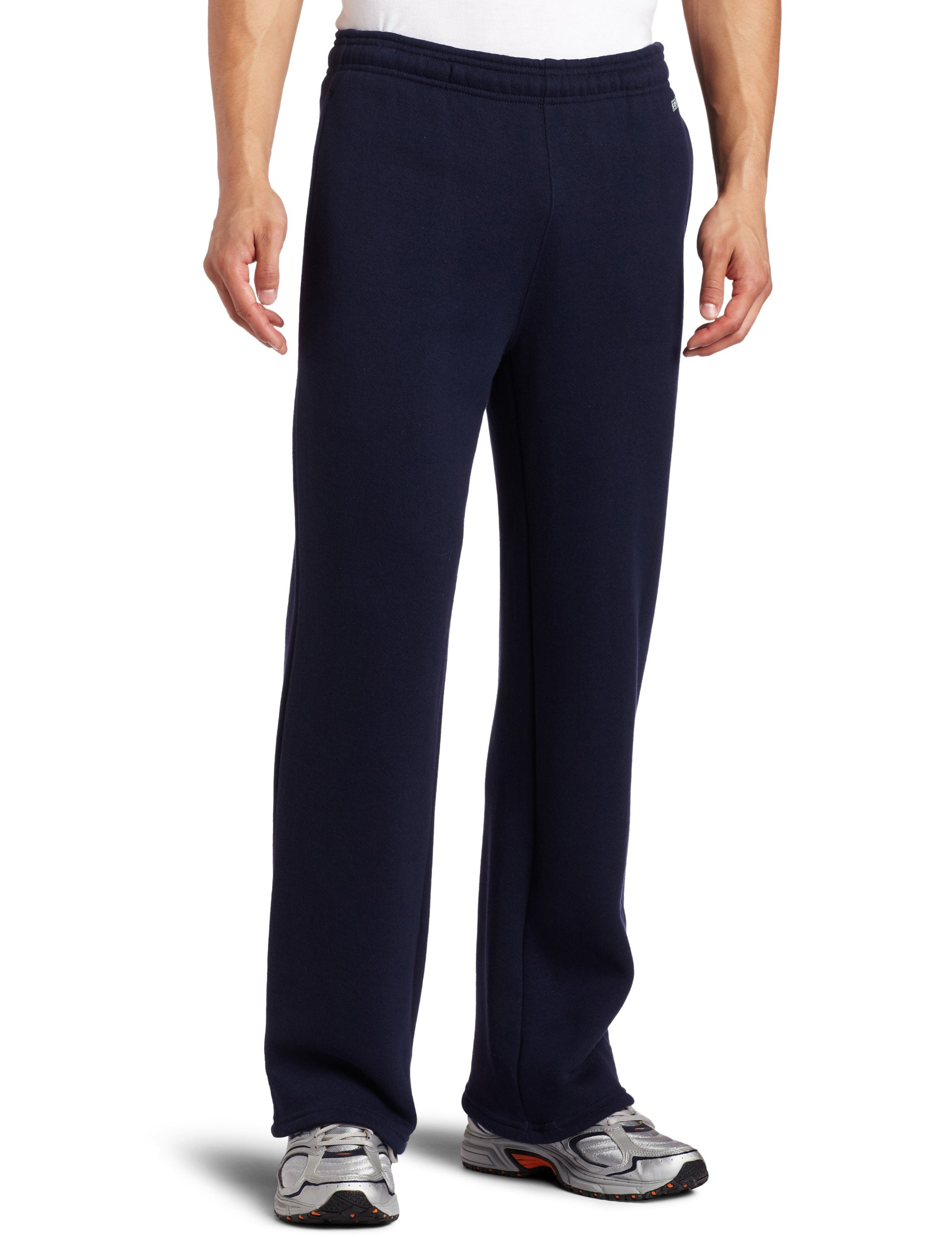 Soffe Men's Training Fleece Pocket Pant Navy Small