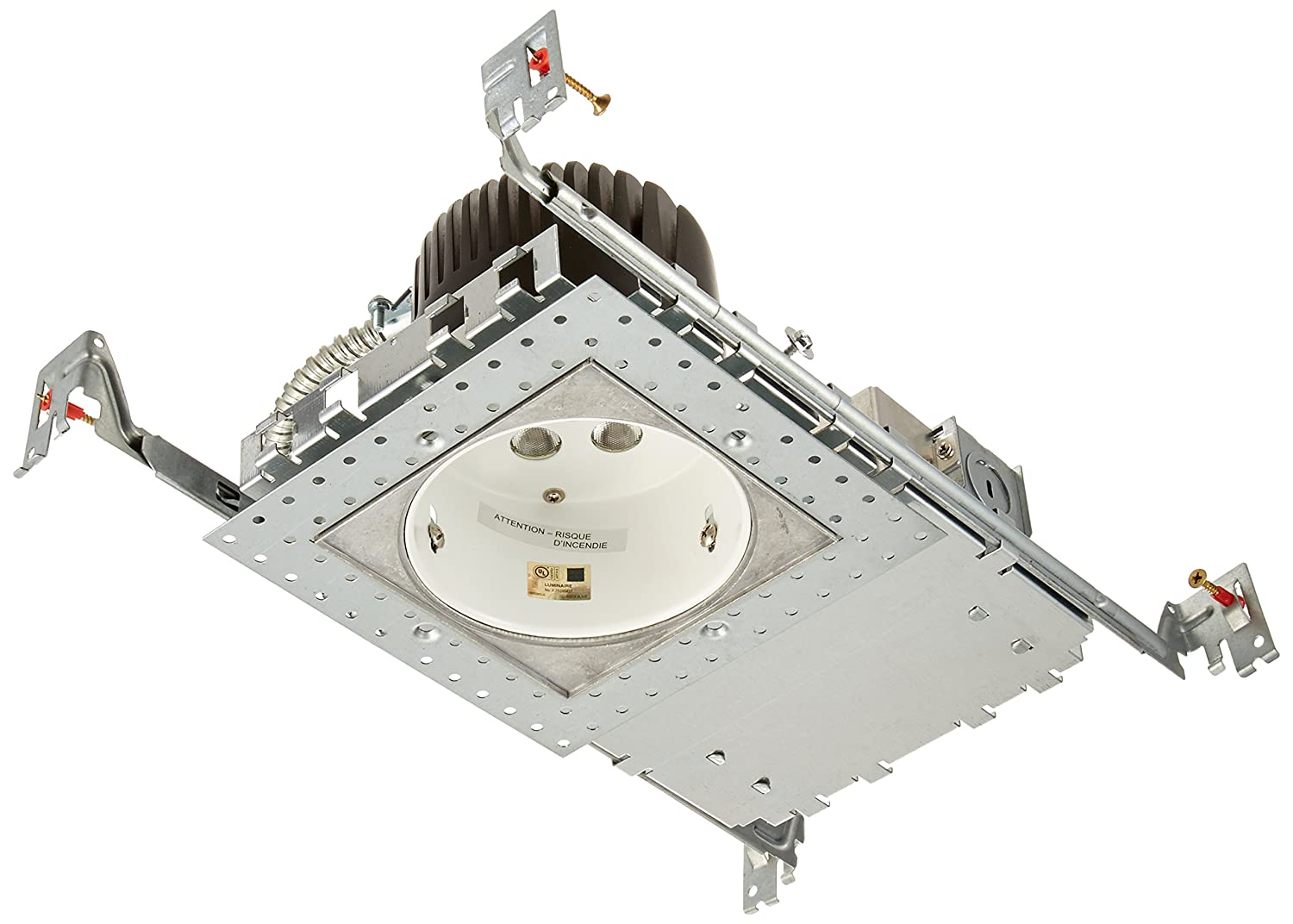 Wac lighting hr hl 4 low voltage new construction housing recessed can light - Wac Lighting Hr Led418 N Sq27 Ledme 4 Inch Recessed Downlight New Construction Invisible Trim Non Ic Housing 2700k Recessed Light Fixture Housings