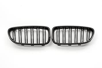 5577fa8330e Image Unavailable. Image not available for. Colour  Gloss Black ABS Plastic  Kidney Radiator Grill for BMW ...