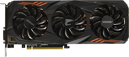 Gigabyte GV-N107TAORUS-8GD Graphic Cards GeForce GTX 1070Ti 8G