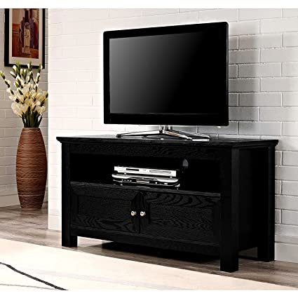 Amazon Com Efd Multi Media Tv Stand With Cabinet And Open Shelves