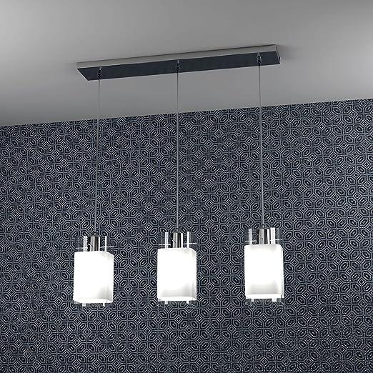 Lámparas de techo barra 60 cm 3 luces Vild focos sospesi del ...