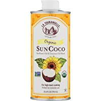 La Tourangelle Organic Sun Coco Oil 25.4 Fl. Oz., Neutral Flavor & High Smoke Point...