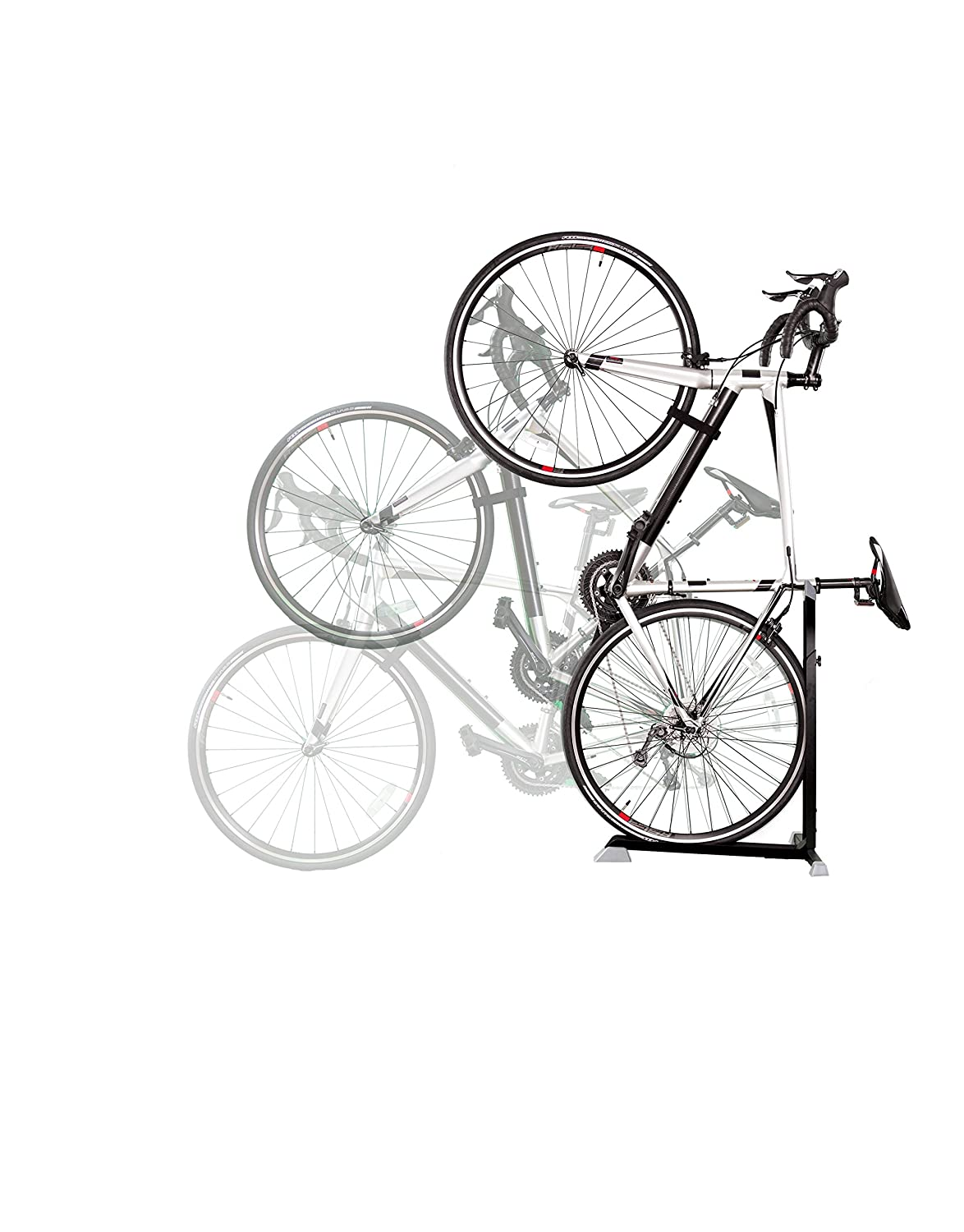 Bike Nook Bicycle Stand The Easy-to-Use Upright Design Lets You Store Your Bike Instantly in A Space-Saving Handstand Position, Freeing Floor Space in Your Living Room, Bedroom or Garage! Thane USA Inc 203-3337201