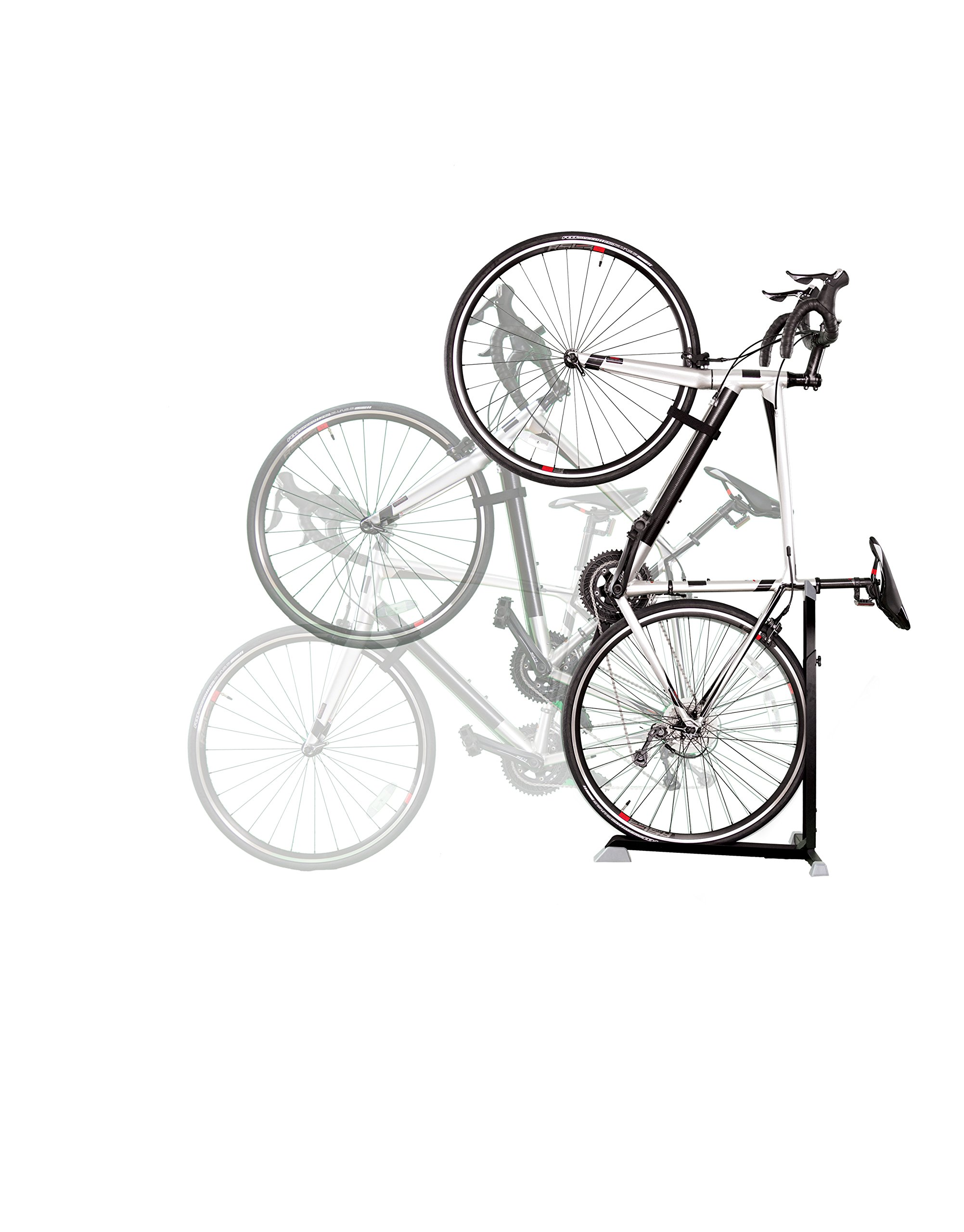 Bike Nook Bicycle Stand The Easy-to-Use Upright Design Lets You Store Your Bike Instantly in A Space-Saving Handstand Position, Freeing Floor Space in Your Living Room, Bedroom or Garage!
