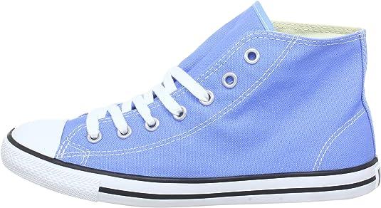 Converse Dainty Bas Mid 289000 52 51, Damen Sneaker, Blau