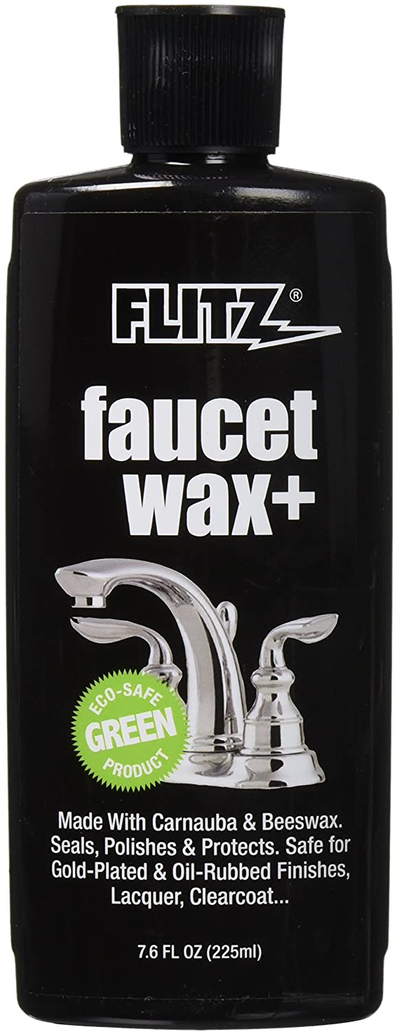 Amazon.com: Flitz PW 02685 Faucet Wax Plus, 7.6-Ounce: Home Improvement