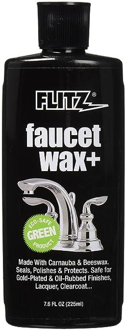 Amazon.com: Flitz PW 02685 Faucet Wax Plus, 7.6-Ounce: Home Improvement