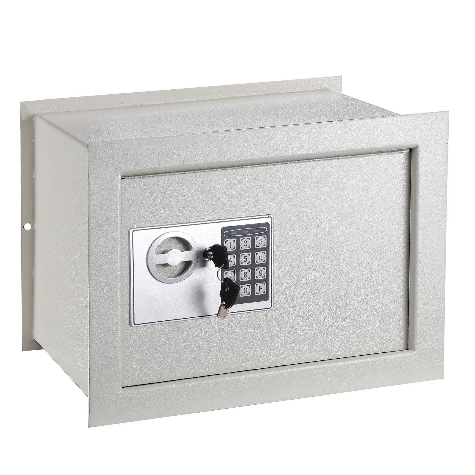Electronic Safe Box Wall Inground 1.0 CF Digital Keypad Hotel Home Office Security Lock