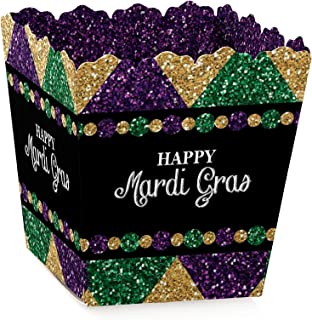 product image for Mardi Gras - Party Mini Favor Boxes - Masquerade Party Treat Candy Boxes - Set of 12