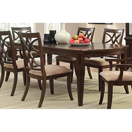 Amazoncom HEFX Kara Formal Inch Dining Table In - 68 inch dining table