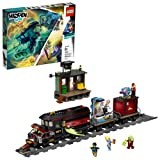 LEGO Hidden Side Ghost Train Express 70424 Building Kit, Train Toy for 8+ Year Old Boys and Girls, Interactive Augmented Reality Playset